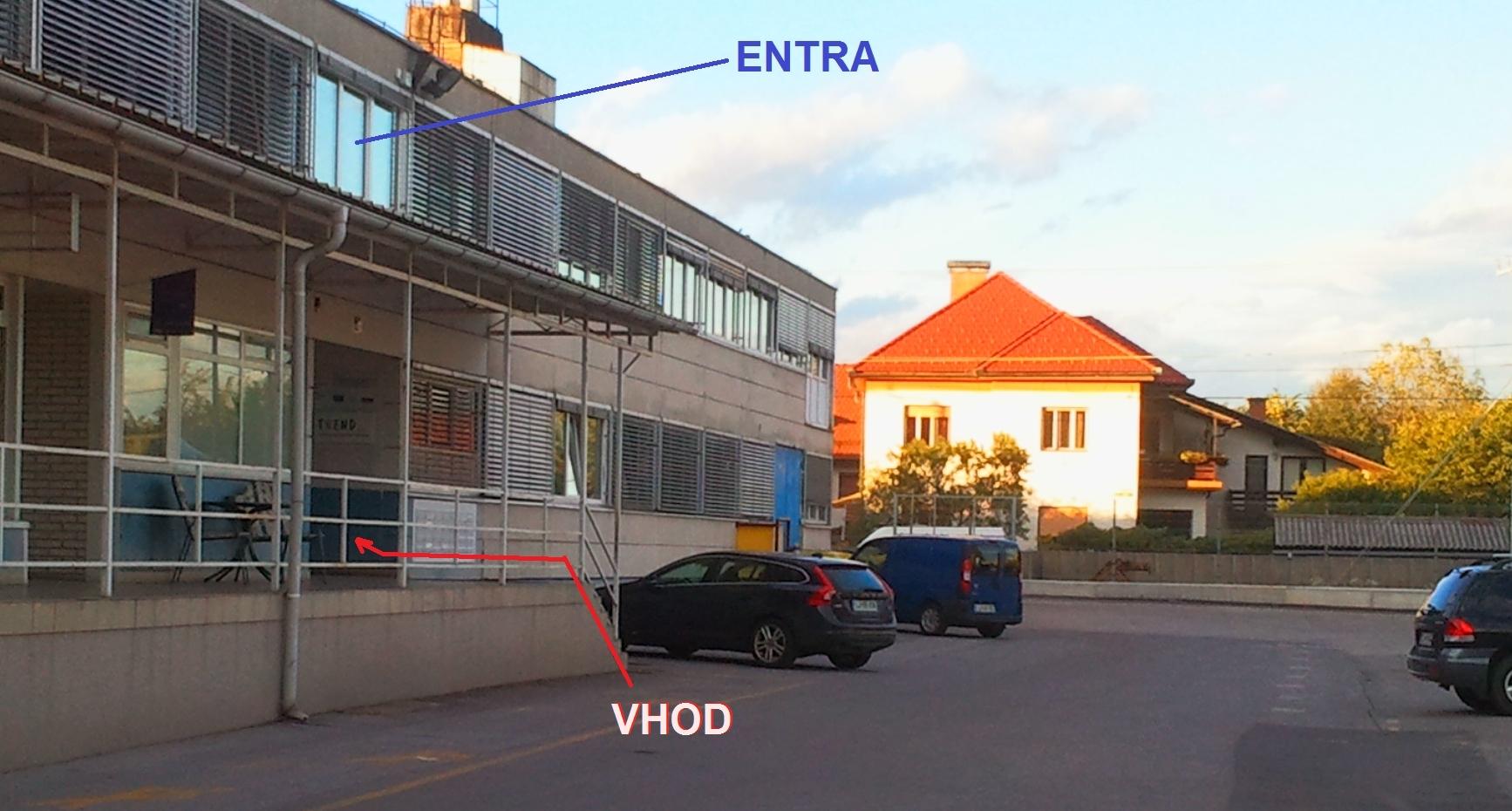 ENTRA, Plemljeva 2, Ljubljana